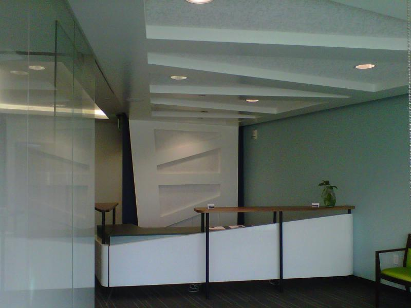 Riverfront Dental Reception Desk